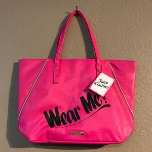 Cute NWT Juicy Couture Pink Tote Bag